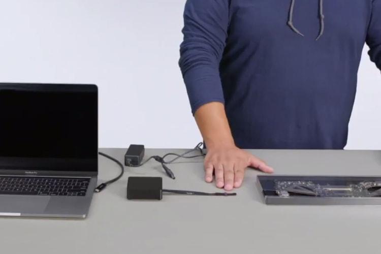 L'opération de transfert de données d'un MacBook Pro en Apple Store dévoilée en vidéo