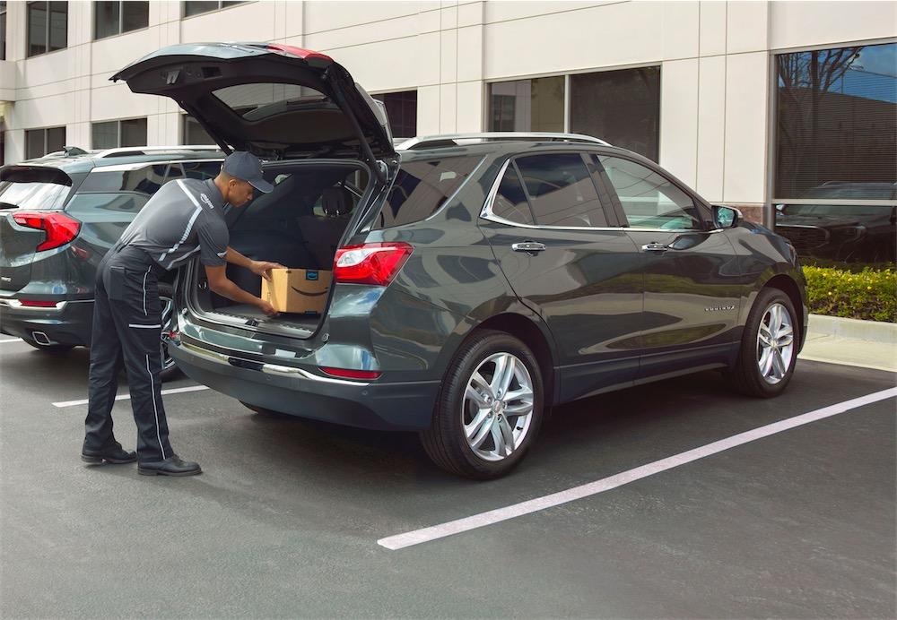 Amazon peut désormais livrer des colis dans le coffre de votre voiture !