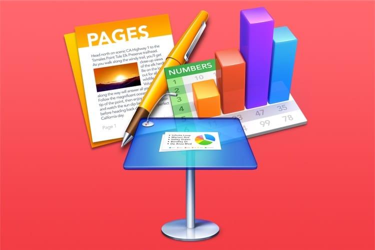 Pages, Numbers et Keynote mis à jour sous iOS et macOS