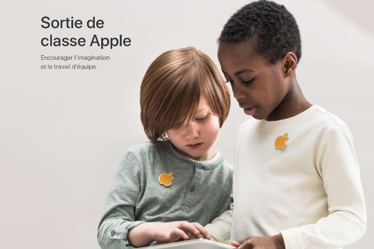 Les sorties scolaires en AppleStore sont désormais interdites en France