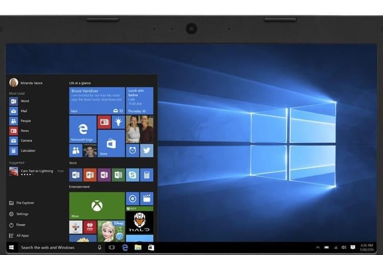 Windows 10 est installé sur plus de 700 millions d'appareils