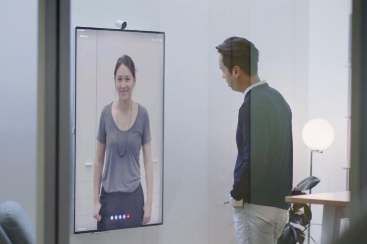 Surface Hub2, une grande fenêtre pour travailler en groupe et à distance