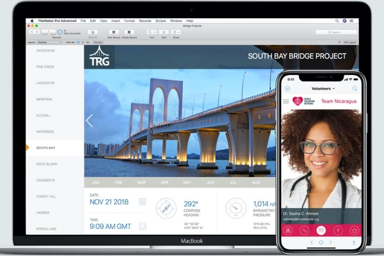 FileMaker 17 poursuit sa mue en plateforme de création d'apps