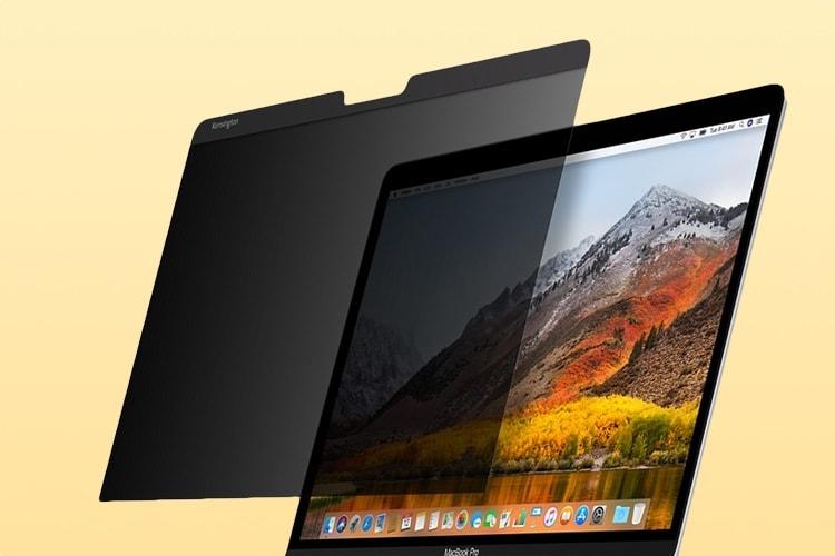 Aperçu du filtre de confidentialité Kensington pour MacBook Pro