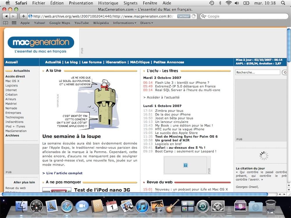 MSN MAC 10.5.8 POUR TÉLÉCHARGER
