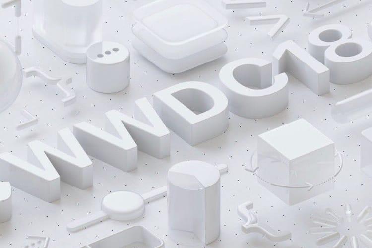WWDC 2018 : Apple annonce le keynote du 4 juin