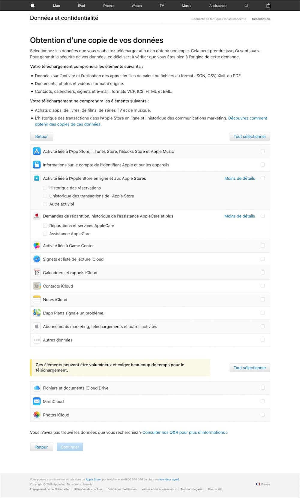 télécharger icloud pour macbook air