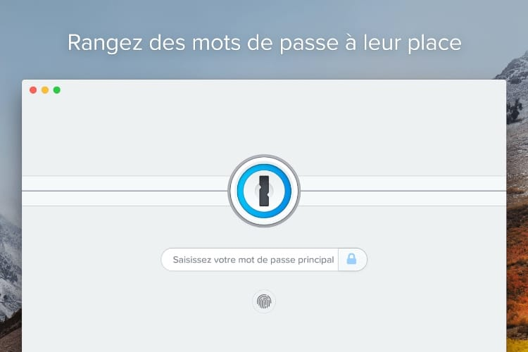 1Password7 avec abonnement est disponible sur le Mac App Store