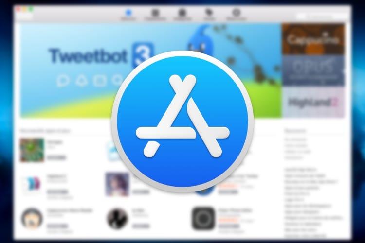 Est-ce que le Mac App Store va suivre l'AppStore en 2018?