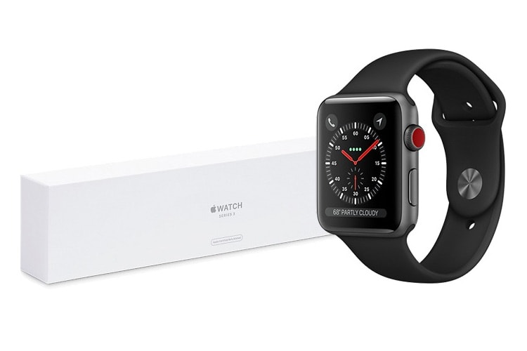 Le refurb américain toujours plus alléchant avec des Apple Watch Series 3 Cellular