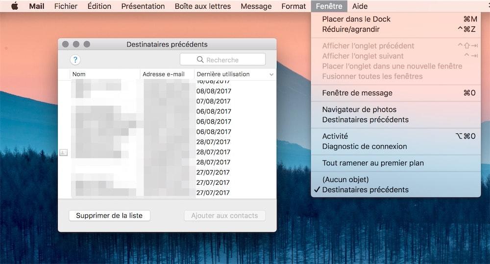 Windows live mail supprimer flux rss
