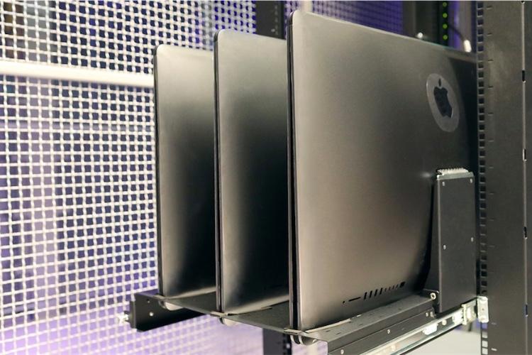 L'iMac Pro fait aussi un bon serveur rack chez MacStadium