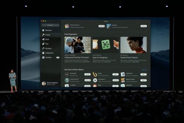 macOS Mojave : la boutique d'apps pour le Mac fait enfin sa mue