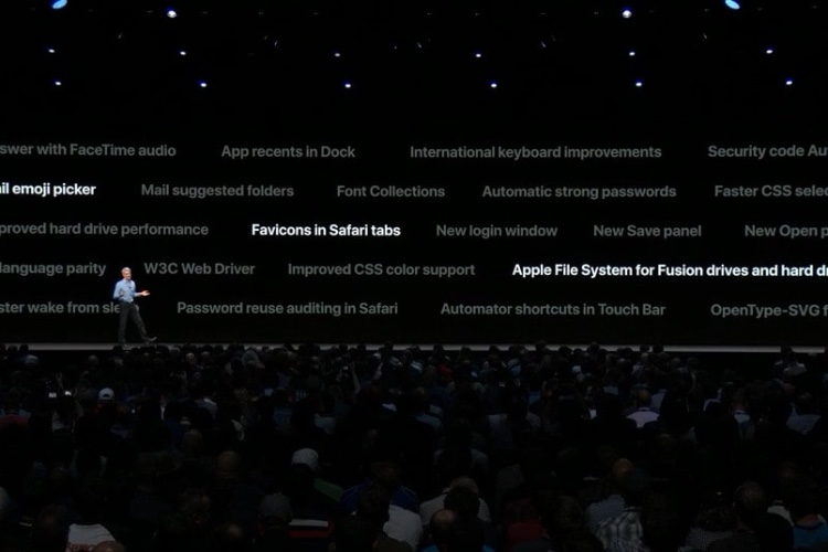 macOS Mojave apportera APFS aux disques durs et Fusion Drive