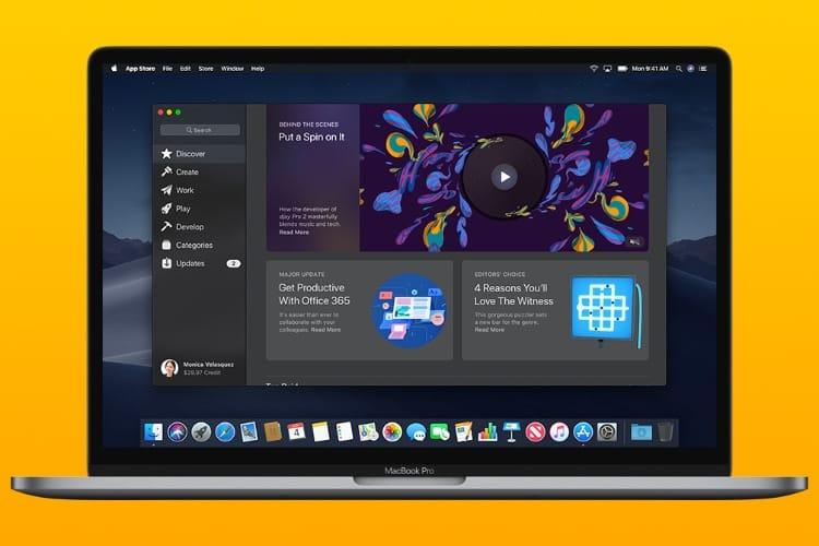 La première bêta de macOS Mojave est en ligne