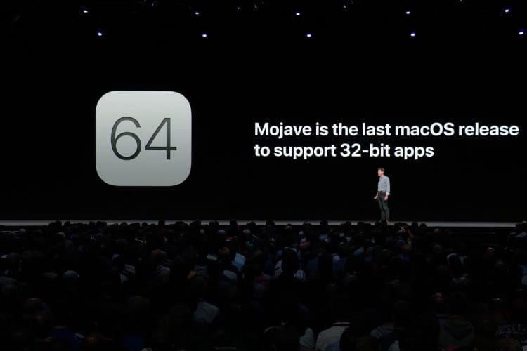 macOS Mojave, dernière version compatible avec les apps 32 bits