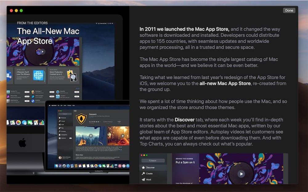 Lun Des Articles Ici Sur Le Nouveau Mac App Store