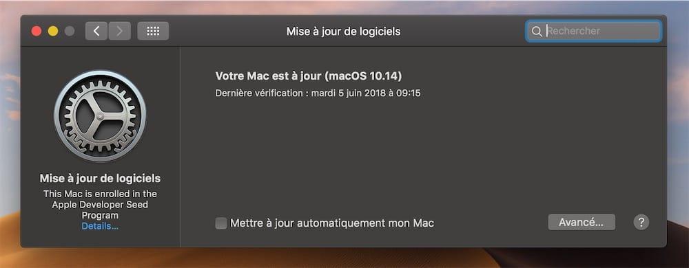 Seules Les Mises Jour Dapps Sont Affiches Dans Le Mac App Store Celles Du Systme Et Des Apps Fournies Avec Se Font Dsormais Prfrences
