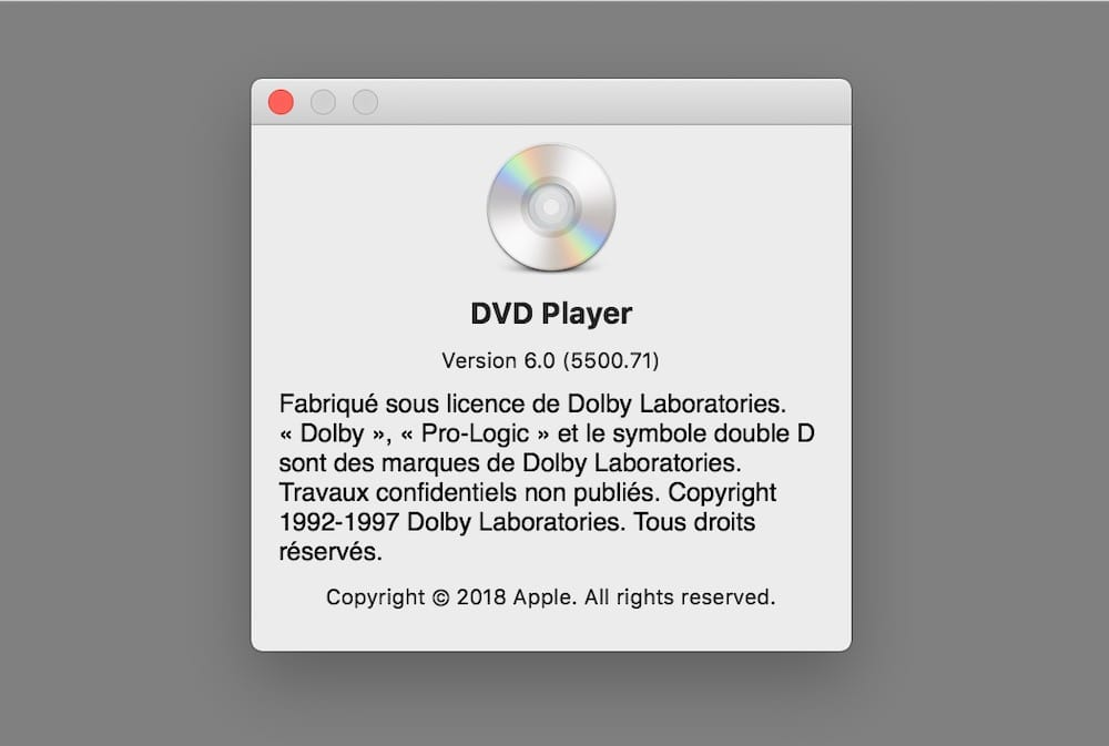 mac mini probleme lecture dvd
