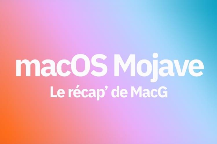 WWDC 2018: le récap' des nouveautés de macOS Mojave