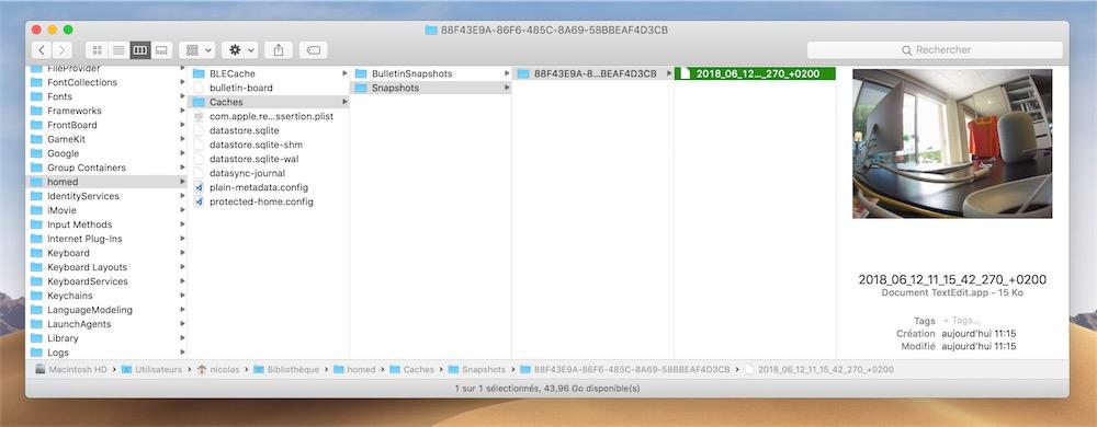 macOS Mojave is not very discreet with HomeKit cameras