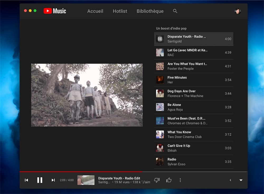 YT Music, déjà une app « native » macOS pour YouTube Music