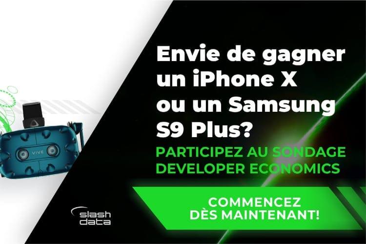 Développeurs : donnez votre avis et remportez un iPhone X