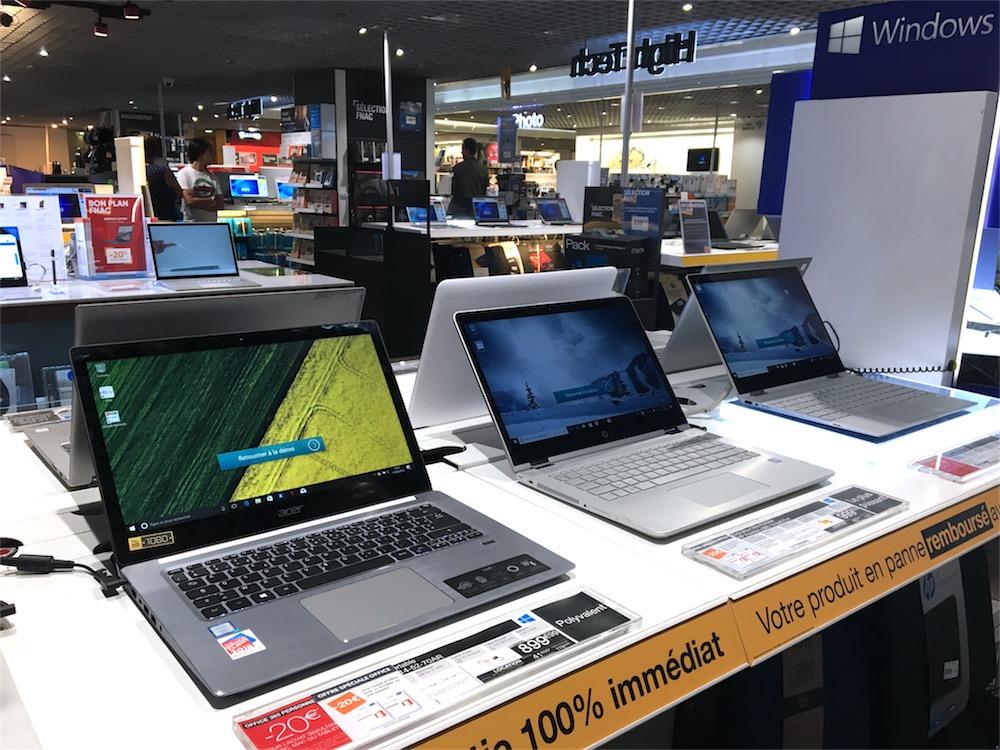 recherche pc portable windows