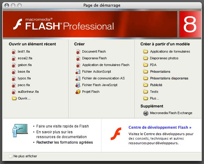 telecharger macromedia flash player 8 francais gratuit