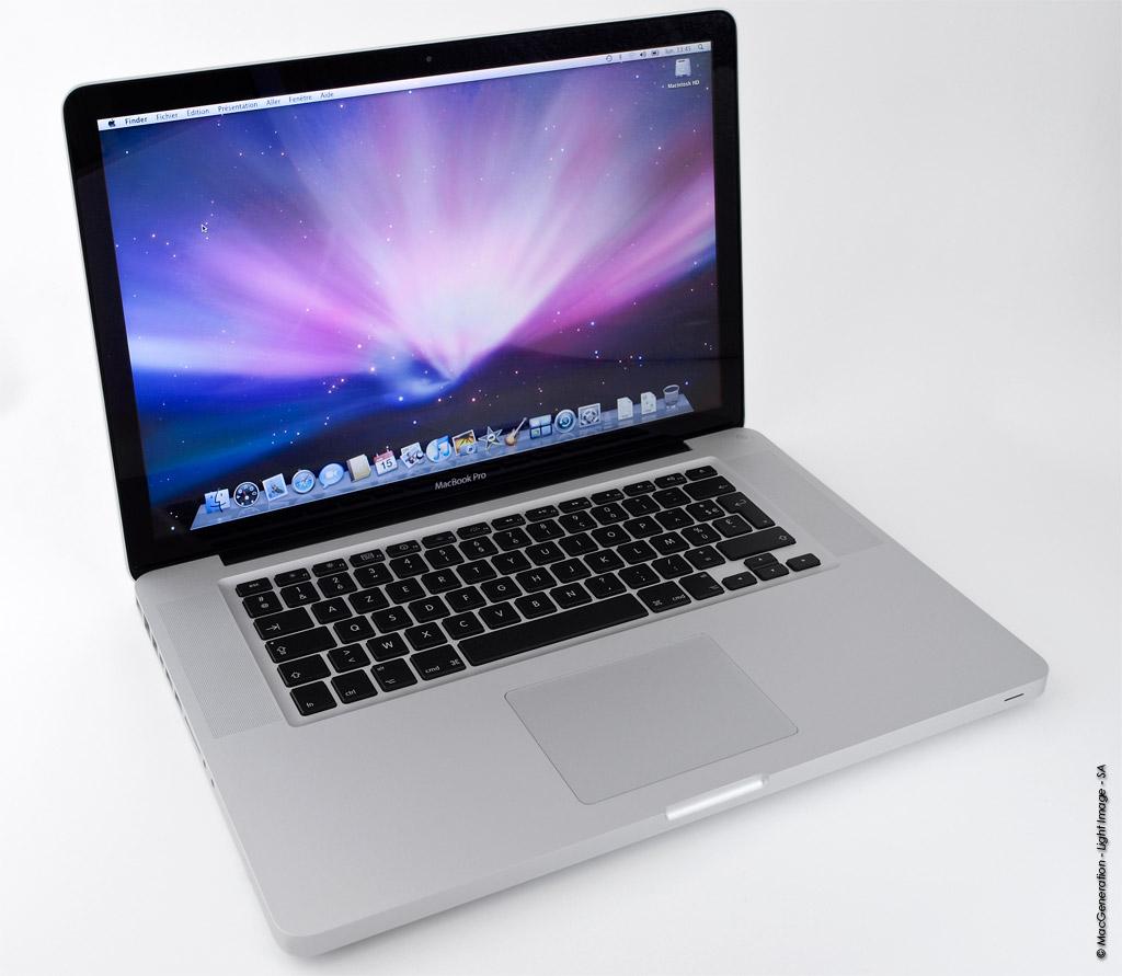 tests  test du macbook pro ED ghz middle