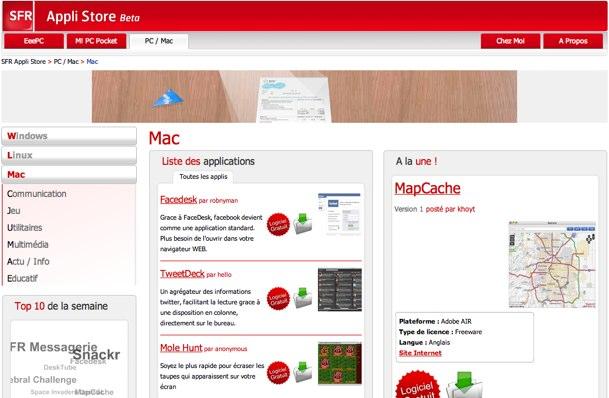 MacSFRAppliStore