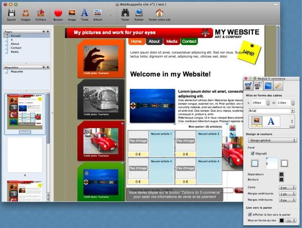 logiciel web acappella gratuit
