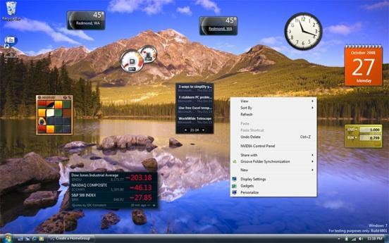 Gadget pour windows 7 64bits t l charger en ligne - Telecharger gadget meteo bureau gratuit ...