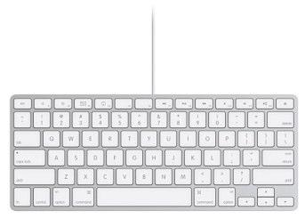 apple nouveau clavier compact filaire macgeneration. Black Bedroom Furniture Sets. Home Design Ideas