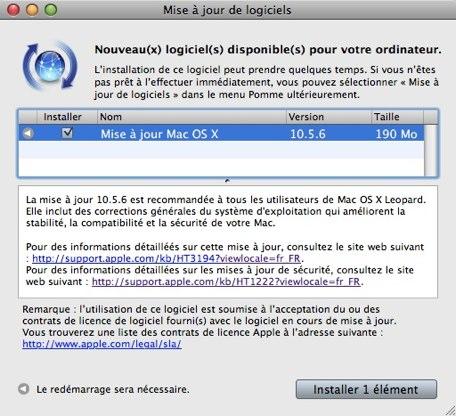 X TÉLÉCHARGER OS POUR 10.5.8 MAC LOGICIEL