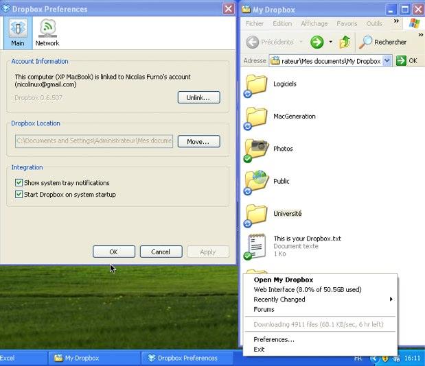 Dropbox Windows