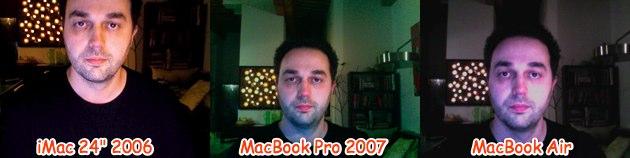 imac24vsMBP2007vsMBAir